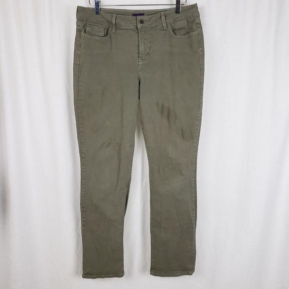 NYDJ Denim - NYDJ Green Straight Jeans